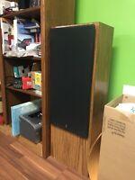 "Yamaha NS-A180 Vintage Floorstanding Speakers Pair 12"" woofers"