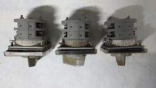SONTHEIMER SELECTOR SWITCH    AV3/16E     GR22/16E Lot of 3