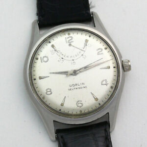 Dorlin Dial Ed. Heuer 1382N Power Reserve Automatic 33mm Stainless Steel Watch