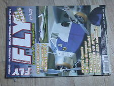 $$4 Revue Fly International N°143 Plan encarte Breguet 393 T  Mystic  MX-16s