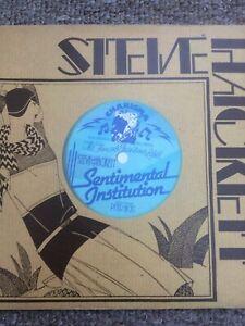 "Steve Hackett - Sentimental Institution 7"" Vinyl Single 1980 On charisma CB368"