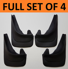 Rubber Moulded Universal Fit Car MUDFLAPS Mud Flaps Fits SEAT Alhambra