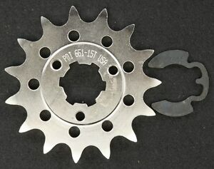 PBI - 661-15 -  Front Countershaft Sprocket, 15T - Made In USA