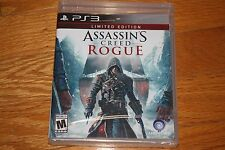 Brand New Factory Sealed PS3 Assassin's Creed Rogue Limited Edition SHIP FREE US