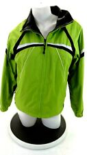 SB ACTIVE WOMEN'S LIME GREEN / GRAY REVERSIBLE JACKET SIZE PS