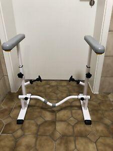 KMINA Toilettengestell WC Aufstehhilfe breitenverstellbar