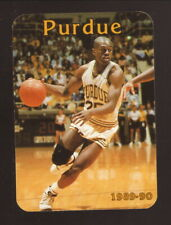 Purdue Boilermakers--1989-90 Basketball Pocket Schedule--Coke
