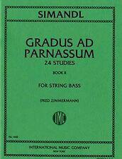 SIMANDL, 24 Etudes Volume 2 pour Contrebasse / 24 Studies Book 2 for String B...