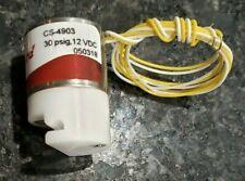 Solenoid Electronic Pinch Valve 12 V DC 30psig for1/8