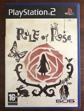 RULE OF ROSE / Ps2 / PLAY STATION 2 PAL / ITALIANO-INGLESE / OTTIME CONDIZIONI