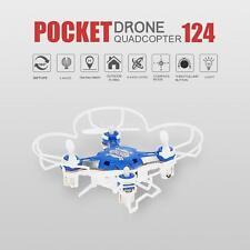 Original FQ777 124 2.4G 4CH Six-axis Gyro Pocket Drone RC Quadcopter O4W9
