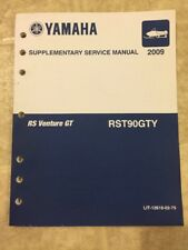 2009 Yamaha RST90 GTY RS Venture GT Shop Repair Supplementary Service Manual