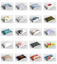 Ambesonne Pillow Sham Print Decorative Pillowcase in 3 Sizes
