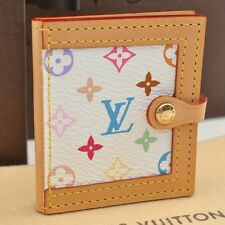 Authentic  Louis Vuitton Multicolor Mini Photo Case White #S2760 E