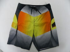 "Billabong Men Fluid Orange 21"" Boardshorts Swimwear Sz 32"