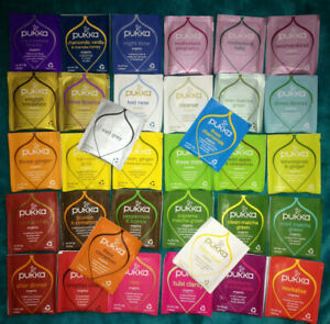 """""""PUKKA """" Selection Pack 37 Different  Enveloped  Tea Bags"""