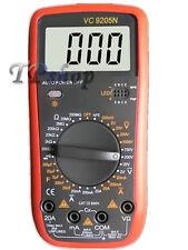 MULTIMETRO DIGITALE TESTER PROFESSIONALE VOLT AMPERE FARAD PUNTALI VC9205N