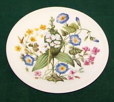 "Wedgwood Eng Avon 8 7/8"" Wild Flowers Southern United States Collector Plate  VG"