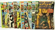 LOT OF 10 1968-71 RUN W/SKIPS, SGT. FURY & HIS HOWLING COMMANDOS COMIC BOOKS