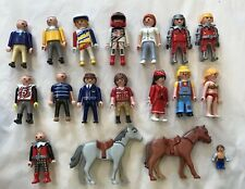 Playmobil - Large selection of people figures & horses