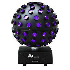 Adj American DJ Starburst 75W RGBWA UV Giratorio 360 Hex Bola De Espejo Efecto Luz