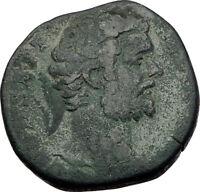 CLODIUS ALBINUS 193AD Rome Sestertius Authentic Ancient Roman Coin RARE i65269