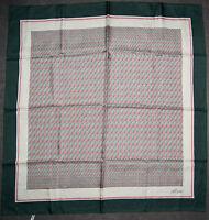 foulard publicitaire en soie  MATRA  78 cm x 76 cm  VINTAGE