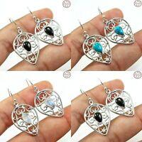 925 Sterling Silver Multi Gemstone Jewelry Earring Variation Listing