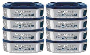 Angelcare 8er-Pack Original Nachfüllkassetten für Angelcare WIndeleimer Dress-Up