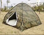 Outdoor 5 Person 4 Season Camping Hiking Waterproof Folding Tent Camouflage