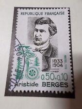 FRANCE 1972, timbre 1707, CELEBRITY ARISTIDE BERGES, oblitéré, VF STAMP