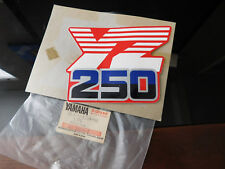 NOS YAMAHA OEM 1986 YZ250 S SIDE COVER FUEL TANK 7 GRAPHIC 1LU-24254-00