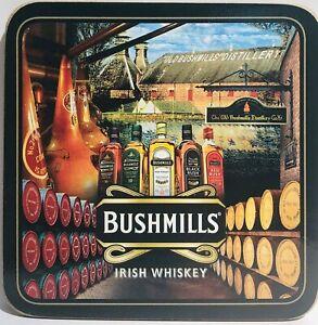 Bushmills Collage Cork Backed Drinks Coaster (sg07005)