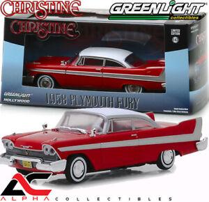 GREENLIGHT 86529 1:43 1958 PLYMOUTH FURY 1983 CHRISTINE MOVIE CAR