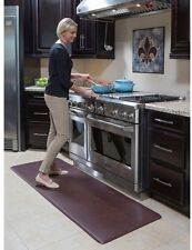 Anti-Fatigue Comfort Mat Easy Clean Kitchen Durable Espresso 26 in. x 72 in. NEW