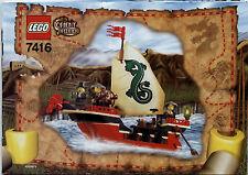 Lego Adventurers # 7416 Emperor´s Ship - Bauanleitung (keine Steine!)