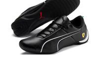 Puma Ferrari Mens Future Cat Ultra Trainers Black Shoes