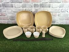 Vintage 4 Person Picnic Set Patioware By Twinco 1970s