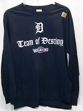 Detroit Tigers 2006 A.L. Champions World Series Long Sleeve Large Shirt Lee New