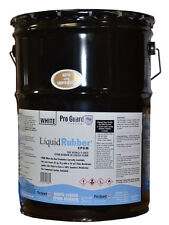 Liquid-Rubber -Liquid EPDM coating -5 Gallon - -for roof leaks, repair, sealing