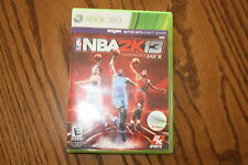 NBA 2K13 (Xbox 360, 2012) Good Shape Complete NBA 2K 13