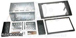 CT23AU01Audi A4 B6 B7 01-09 Double Din Car Stereo Fitting Kit Facia Cage Bezel