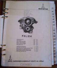 Deutz Motoren F8L814 Ersatzteilliste