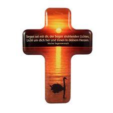 Kreuz Wandkreuz Metallkreuz Segen sei mit Dir