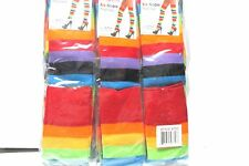 1 PAIR ANGELINA RAINBOW THIGH HIGH SIZE ONE SIZE STYLE 6753