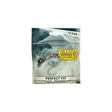 MTG Nuevo Y En Caja DRAGON ESCUDO Mangas Ajuste Perfecto sideloaders dspfsl 100 CL claro (100)