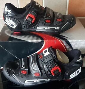 SIDI GENIUS 7 MENS BLACK CYCLING SHOES SIZE EUR 37US 4 1/2 BRAND NEW IN BOX TAGS