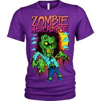 Zombie Apocalypse T-Shirt Unisex Mens
