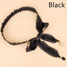 Ceintures noirs perlés pour femme