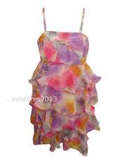 Knielange Mädchenkleider aus Chiffon für alle Muster